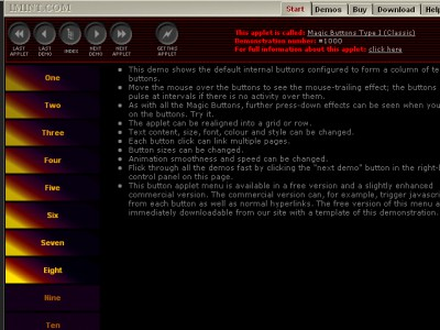 255 Magic Animating Buttons 5.0 screenshot