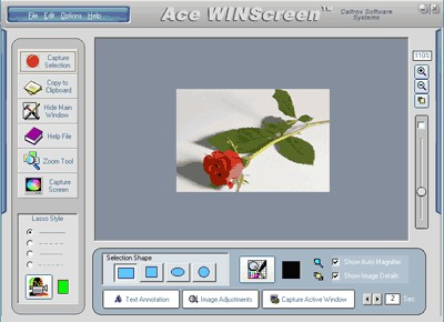 Ace WINScreen 4.5 screenshot