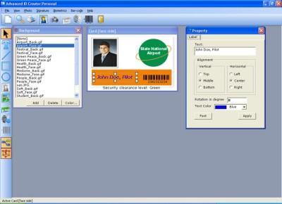 Advanced ID Creator Personal 9.5.236 screenshot
