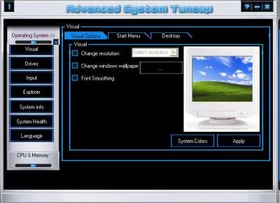 Advanced System Tune up 3.1.0.4 screenshot
