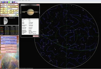 Asynx Planetarium 2.80 screenshot