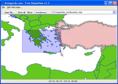 Avangardo ShapeView 2.2 screenshot