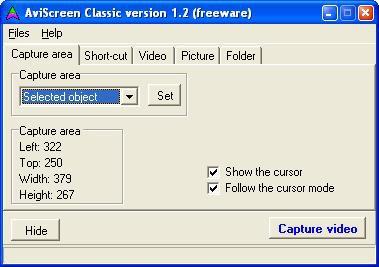 AviScreen Classic 1.3 screenshot