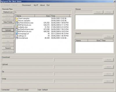 BigSpeed File Sharing SDK 3.0 screenshot