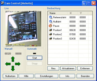 CamControl (Mobotix) 1.001 screenshot