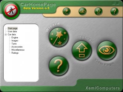 CarHomePage 1.0 screenshot