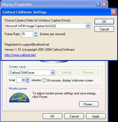 Catfood CamSaver 1.10.0033 screenshot