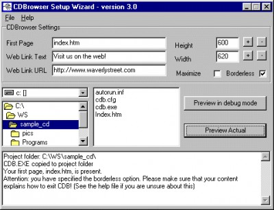 CDBrowser 3.2 screenshot