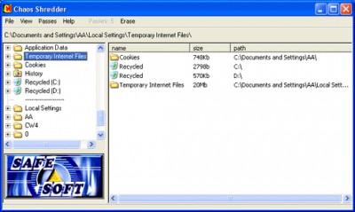 CHAOS Shredder 3.0 screenshot