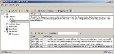 Clipboard Help+Spell 2.46.01 screenshot