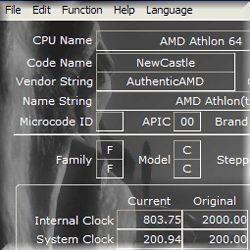 CrystalCPUID 4.10.0.328 screenshot