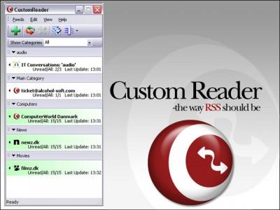 Custom Reader 1.4 screenshot