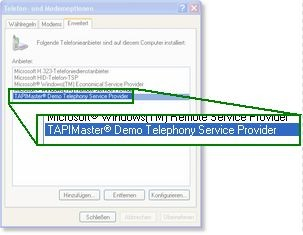 Demo TAPI Driver 3.1 screenshot
