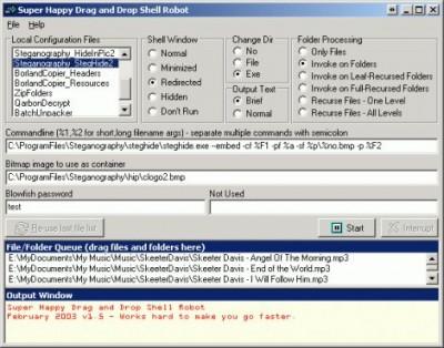 Drag and Drop Robot 1.15.01 screenshot