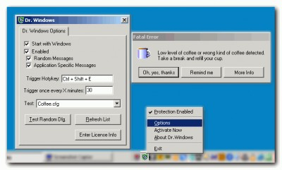 DrWindows 1.06.01 screenshot