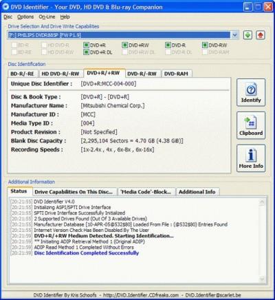 DVD Identifier 5.0.1 screenshot