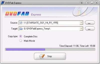 DVDFab HD Decrypter 3.0.9.6 screenshot