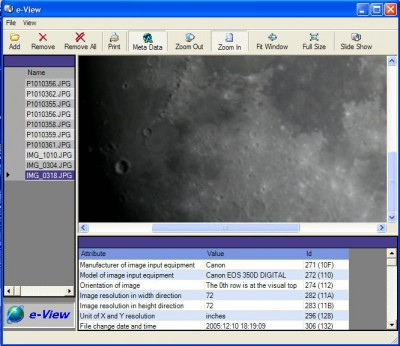 e-View 1.0 screenshot