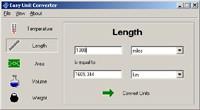 Easy Unit Converter 1.2 screenshot