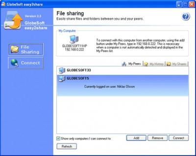 Easy2share 2.0 screenshot