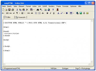 EasyHtml 3.1.0 screenshot