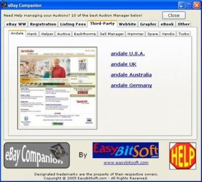 eBay Companion 2.0 screenshot