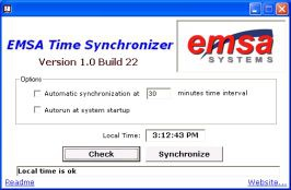 Emsa Time Synchronizer 1.0.58 screenshot