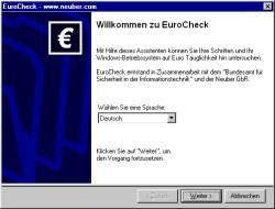 EuroCheck 1.4 screenshot