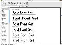 Fast Font Set 1.10 screenshot