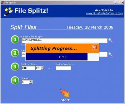 File Splitz! 1.0.0 screenshot