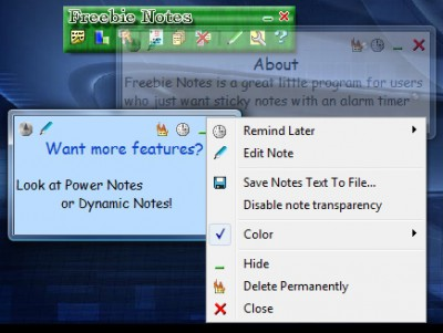 Freebie Notes 3.53 screenshot