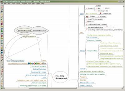 FreeMind 0.9.0.15 screenshot