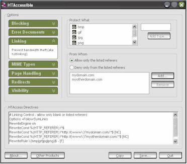HTAccessible 1.0 screenshot