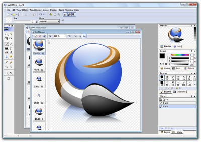 IcoFX 3.1 screenshot