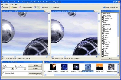 Image Converter .EXE 2.0.82 screenshot