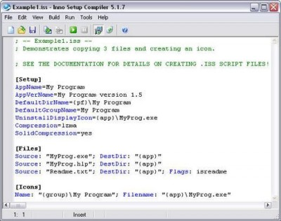 Inno Setup 5.1.11 screenshot