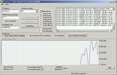 Interface Traffic Indicator 1.5.0.3 screenshot