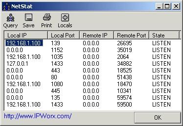 IP_NetStat 1.1.6 screenshot