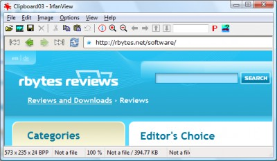 IrfanView 4.10 screenshot