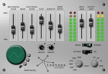 iZotope Vinyl for Winamp 2 1.0 screenshot