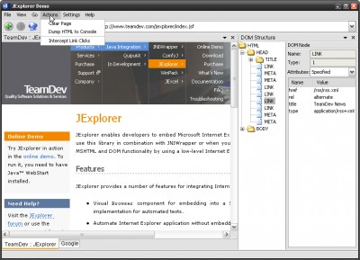 JExplorer 1.9.1 screenshot