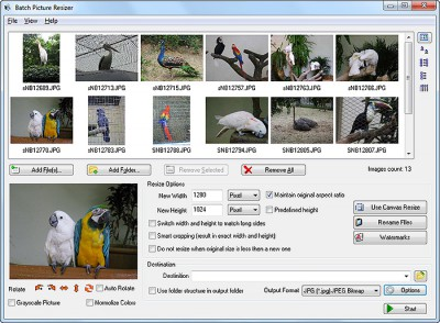 JPEG Resizer 4.0.2 screenshot