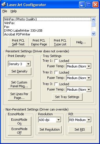 LJConfig 1.2 screenshot