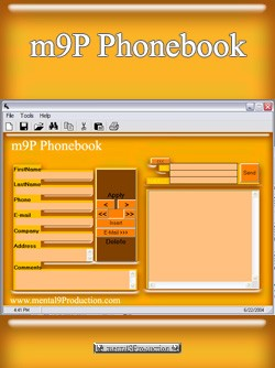 m9P Phonebook 1.2 screenshot