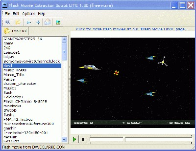 Movies Extractor Scout Lite 2.31 screenshot
