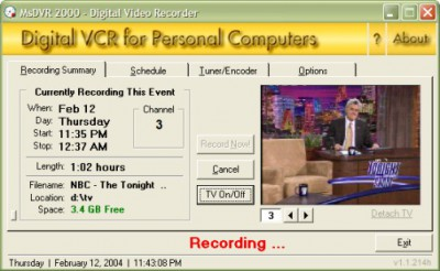 MsDVR 2000 1.1.214h screenshot