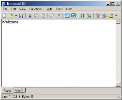NotePad SX 1.4.4 screenshot