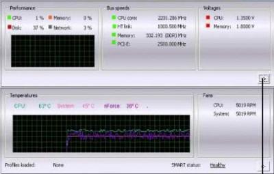 nVidia nTune 5.05.25.00 screenshot
