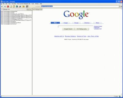 Page Links 1.0 screenshot