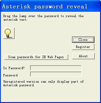 Password Revealer 3.0 screenshot
